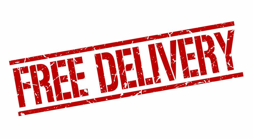 Skinshop free delivery stamp vector 9513982