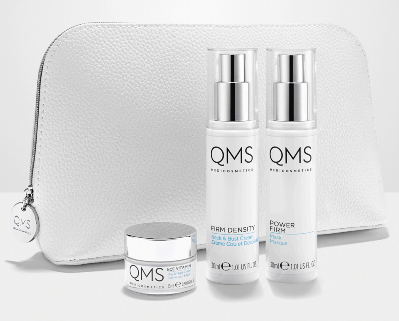 Skinshop qms hydrate firm spring collection