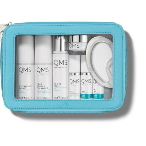 Skinshop qms luxury travel bag
