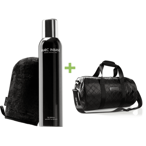 Natural Tanning Spray of Mousse + Glove TRAVELBAG ACTIE